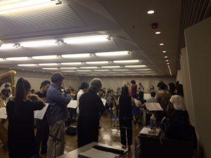 16 Tanabata rehearsal
